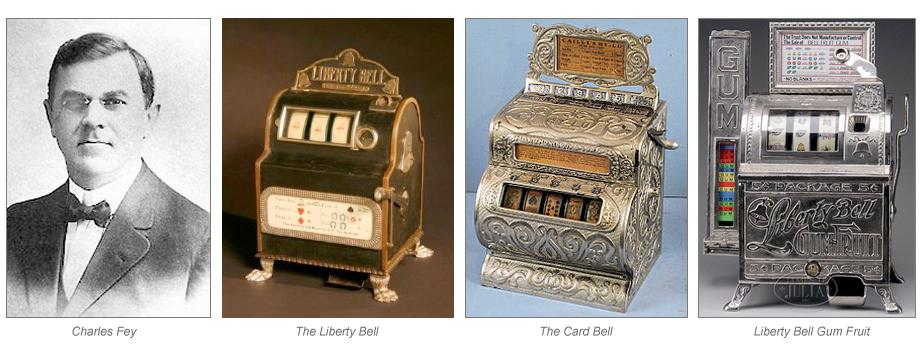 Verdens første spilleautomater